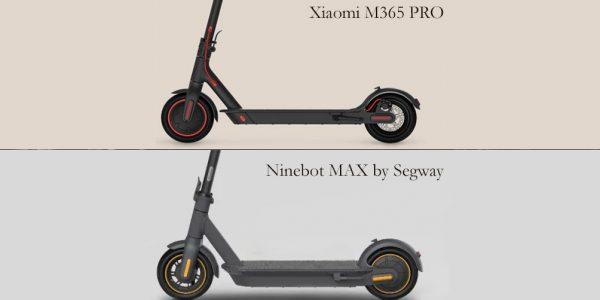 Ninebot MAX vs Xiaomi M365 PRO