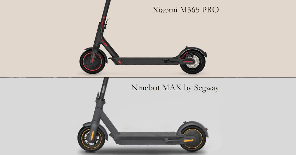 Xiaomi electric scooter M365 PRO vs Ninebot electric scooter MAX