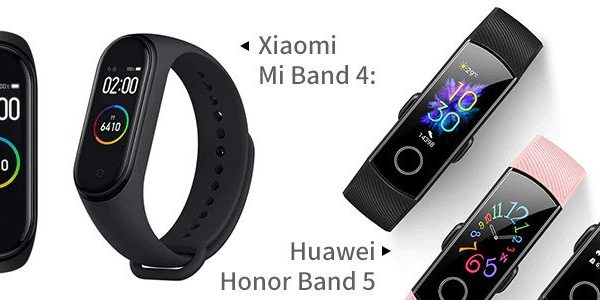 Xiaomi Mi Band 4 vs Huawei Honor Band 5