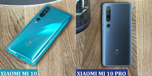 Xiaomi Mi 10 (Ice Blue) vs Xiaomi Mi 10 PRO (Starry Blue)