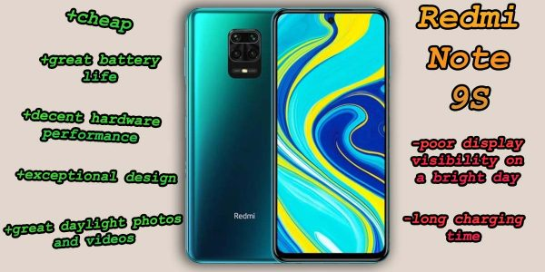 Redmi Note 9S Key Features