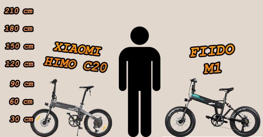 FIIDO M1 vs Xiaomi Himo C20
