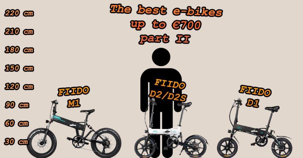 FIIDO M1 vs FIIDO D2/D2S vs FIIDO D1